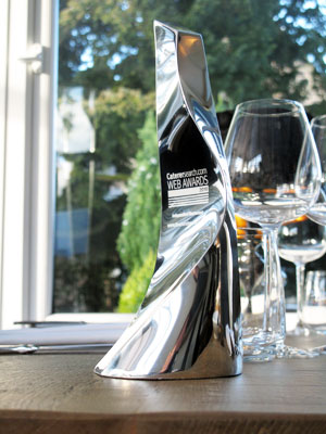 The CatererSearch.com award for best independent restaurant website