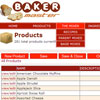 Baker Master products page