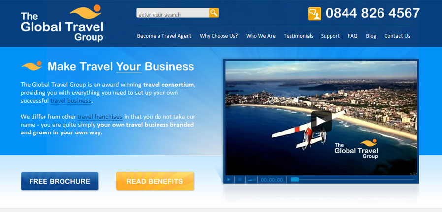 The Global Travel Group Homepage