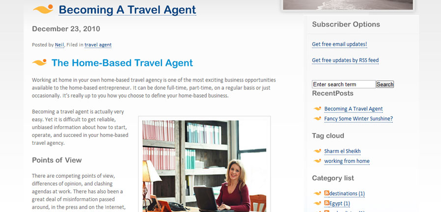 The Travel Agent Blog
