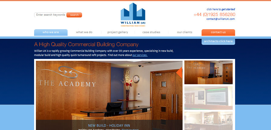 Willian UK Homepage